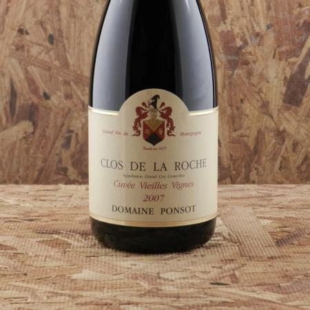 Domaine Ponsot Cuvée Vieilles Vignes Clos de la Roche Grand Cru Pinot Noir 2007