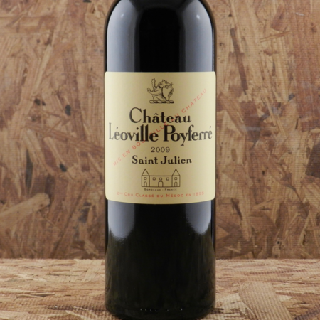 Château Léoville Poyferré Saint Julien Red Bordeaux Blend 2009