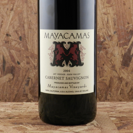 Mayacamas Vineyards Mt. Veeder Cabernet Sauvignon 2004 (1500ml)