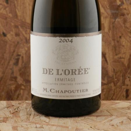 Michel Chapoutier De l'Orée Ermitage Blanc Marsanne 2004