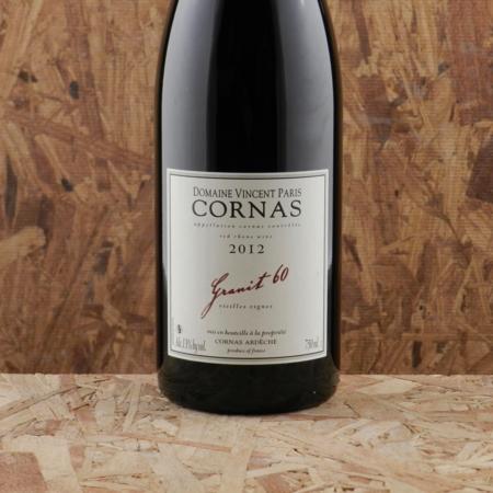 Domaine Vincent Paris Granit 60 Vieilles Vignes Cornas Syrah 2012