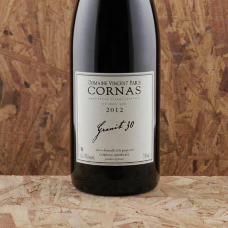 Domaine Vincent Paris Granit 30 Cornas Syrah 2012
