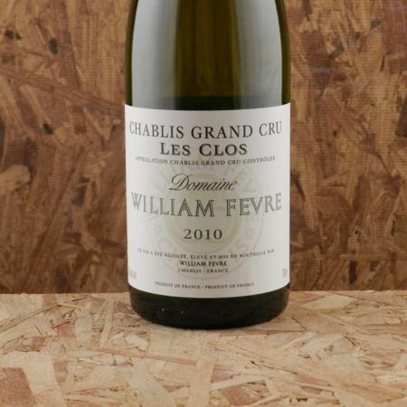 Domaine William Fèvre Les Clos Chablis Grand Cru Chardonnay 2010