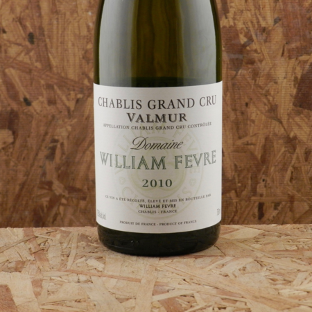 Domaine William Fèvre Valmur Chablis Grand Cru Chardonnay 2010