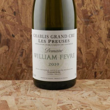 Domaine William Fèvre Les Preuses Chablis Grand Cru Chardonnay 2010