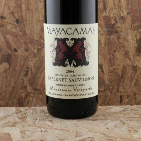 Mayacamas Vineyards Mt. Veeder Cabernet Sauvignon 2004