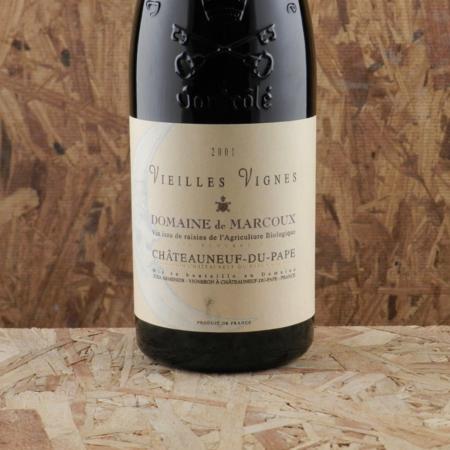 Domaine de Marcoux Vieilles Vignes Châteauneuf-du-Pape Red Rhône Blend 2001