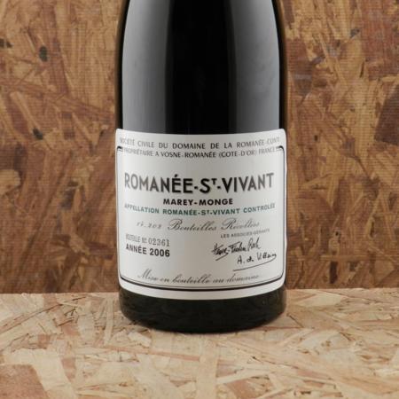 Domaine de la Romanée-Conti (DRC) Marey-Monge Romanée-St. Vivant Pinot Noir 2006