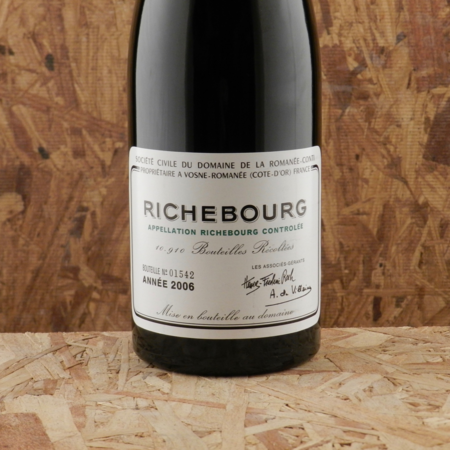 Domaine de la Romanée-Conti (DRC) Richebourg Pinot Noir 2006