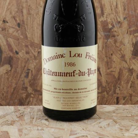 Domaine Lou Fréjau Châteauneuf-du-Pape Grenache Blend 1986