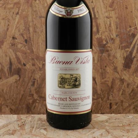 Buena Vista Winery Carneros Cabernet Sauvignon 1984