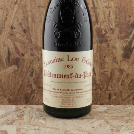 Domaine Lou Fréjau Châteauneuf-du-Pape Grenache Blend 1985