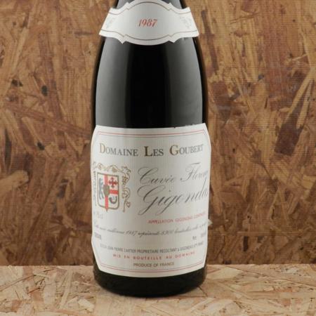 Domaine les Goubert Cuvée Florence Gigondas Red Rhone Blend 1987