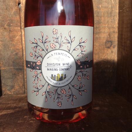 Division Winemaking Company La Templete Brut Rosé de Pinot Noir 2013