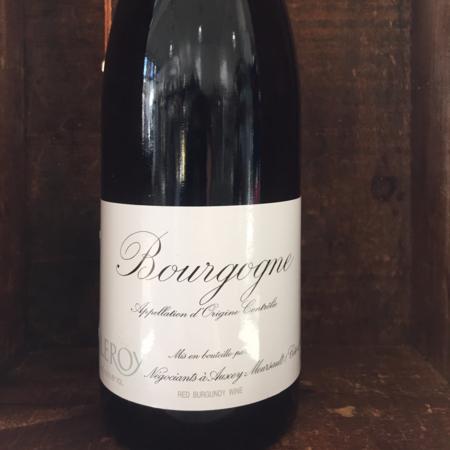 Domaine Leroy Bourgogne Pinot Noir 2015
