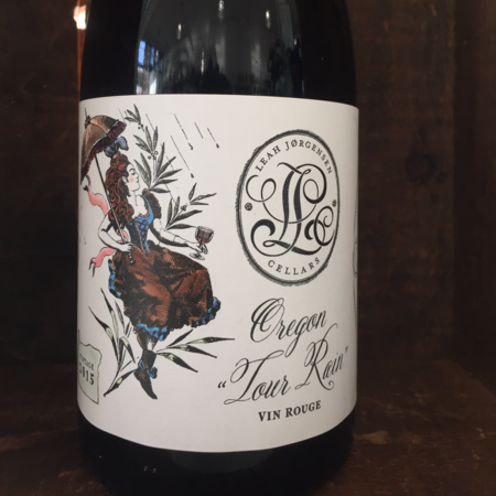 "Leah Jorgensen Cellars Oregon ""Tour Rain"" Red Blend  2015"