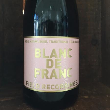 Field Recordings Blanc de Franc Rose Cabernet Franc 2017