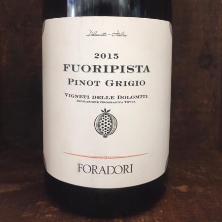 Foradori Fuoripista Vigneti delle Dolomiti Pinot Grigio 2015
