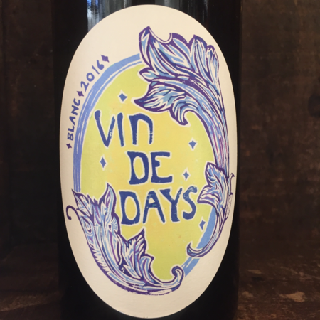 Johan Vineyard Vin de Days Blanc 2016