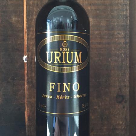 Mons Urium Fino Jerez-Xérès-Sherry NV