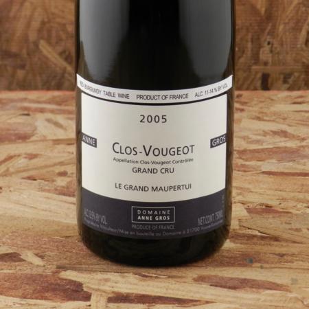 Domaine Anne Gros Le Grand Maupertui Clos Vougeot Grand Cru Pinot Noir 2005