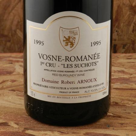 Domaine Robert Arnoux / Arnoux-Lachaux Les Suchots Vosne-Romanée 1er Cru Pinot Noir 1995 (1500ml)