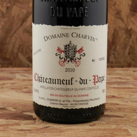 Domaine Charvin Châteauneuf-du-Pape Red Rhône Blend 2010