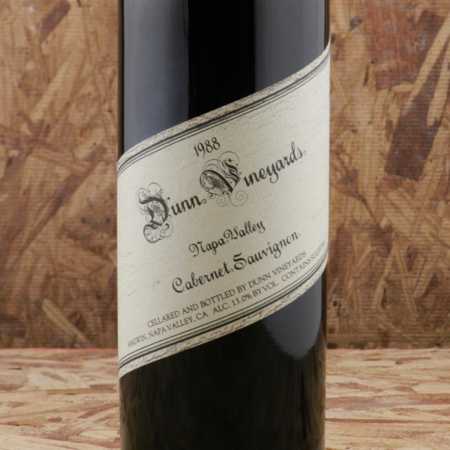 Dunn Vineyards Napa Valley Cabernet Sauvignon 1988