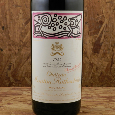 Château Mouton Rothschild Pauillac Red Bordeaux Blend 1988 (1500ml)