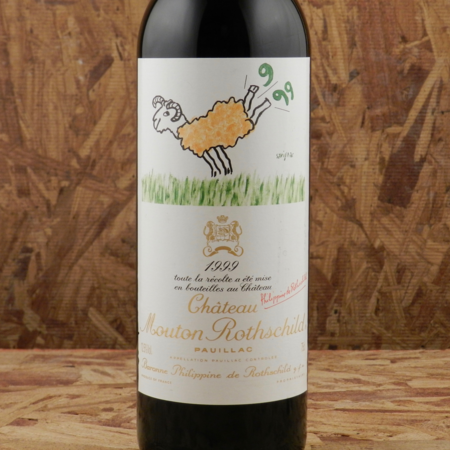 Château Mouton Rothschild Pauillac Red Bordeaux Blend 1999
