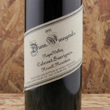 Dunn Vineyards Howell Mountain Cabernet Sauvignon 1991