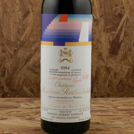 Château Mouton Rothschild Pauillac Red Bordeaux Blend 1984