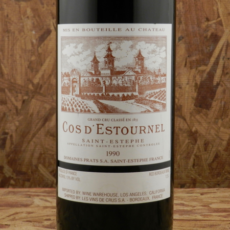 Château Cos d'Estournel Saint-Estèphe Red Bordeaux Blend 1990 (1500ml)
