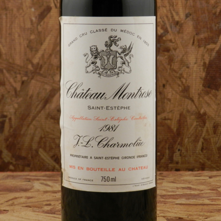 Château Montrose Saint-Estèphe Red Bordeaux Blend 1981