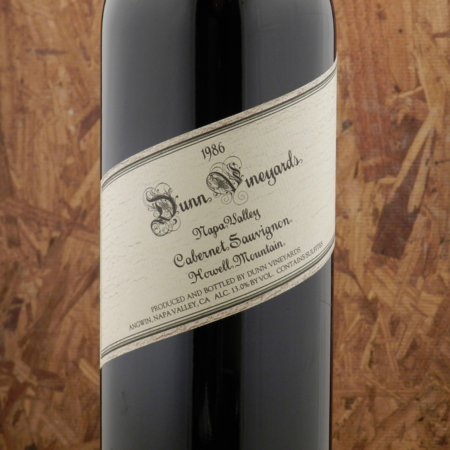 Dunn Vineyards Howell Mountain Cabernet Sauvignon 1986 (1500ml)