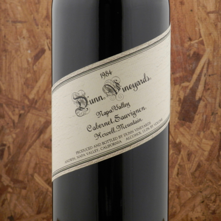 Dunn Vineyards Howell Mountain Cabernet Sauvignon 1984 (1500ml)