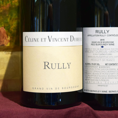 Domaine Vincent Dureuil-Janthial Rully Pinot Noir 2015