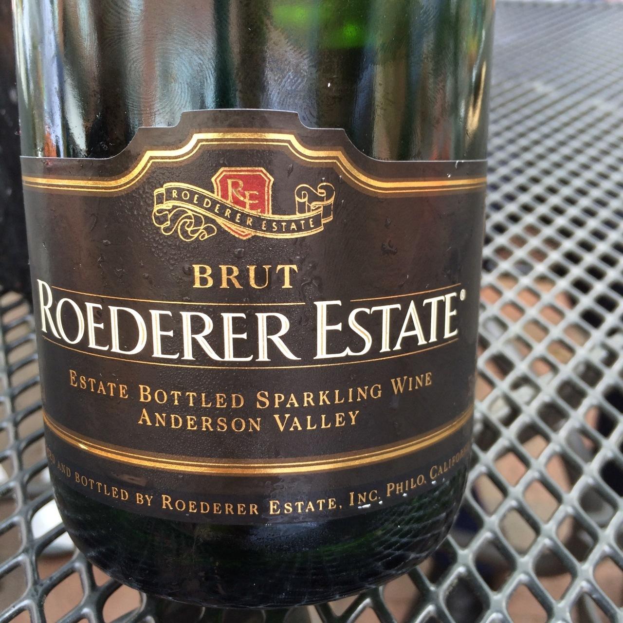 Roederer Estate Brut Anderson Valley Sparkling Pinot Noir - Chardonnay  Blend NV