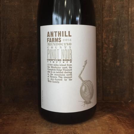 Anthill Farms Comptche Ridge Vineyard Pinot Noir 2014