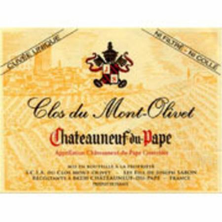 Clos du Mont-Olivet Châteauneuf-du-Pape Red Rhone Blend 2014