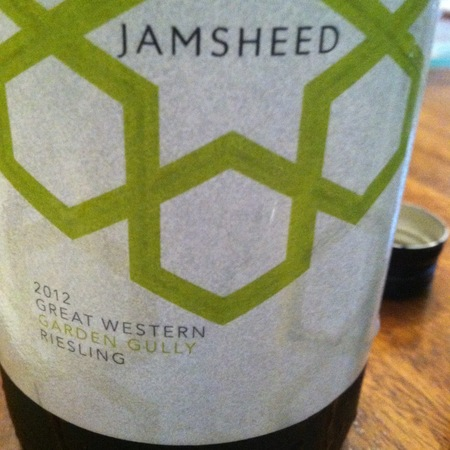 Jamsheed Garden Gully Great Western Riesling 2012