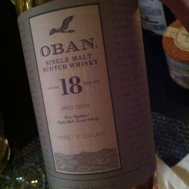 18 Year Single Malt Scotch Whisky NV