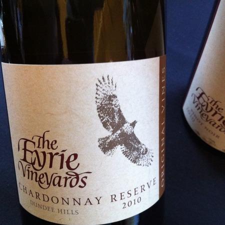 The Eyrie Vineyards  Original Vines Reserve Chardonnay 2014