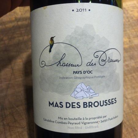 Mas des Brousses Vin de Pays d'Oc White Blend 2016