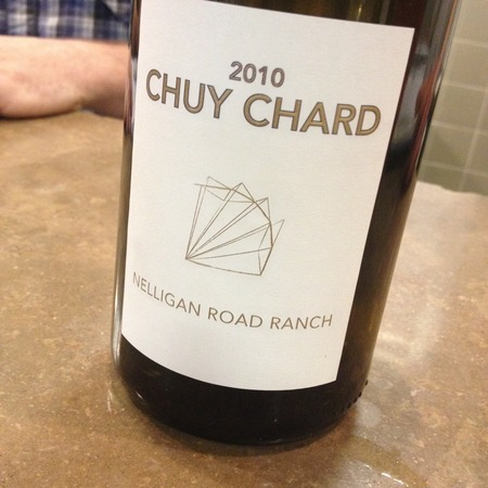 Scholium Project Chuy Chard Nelligan Road Ranch Chardonnay 2010