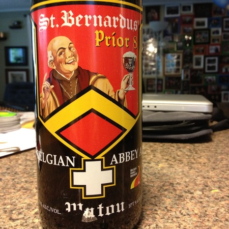 St. Bernardus Prior 8 Belgian Abbey Ale NV (12oz.)