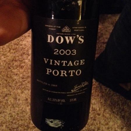 Dow's Vintage Porto Port Blend 2003