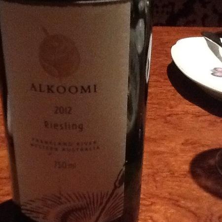Alkoomi Riesling 2015