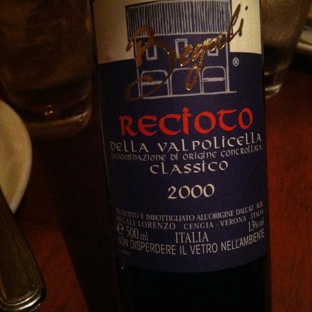 Lorenzo Begali Recioto della Valpolicella Classico 2003 (500ml)