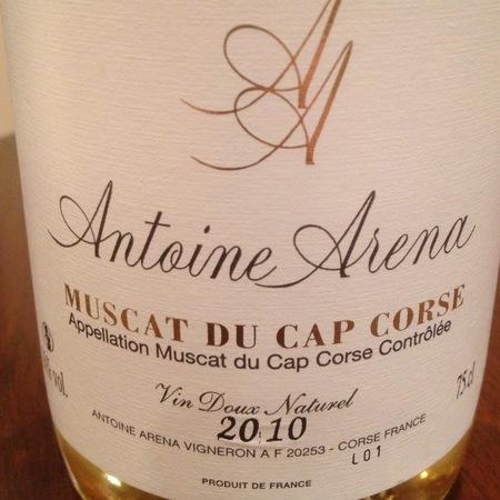 Antoine Arena Muscat du Cap Corse 2014